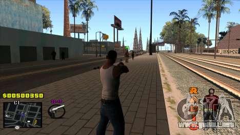 C-HUD Radio para GTA San Andreas segunda pantalla