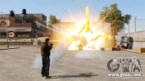Disparos de cohetes para GTA 4 sexto de pantalla