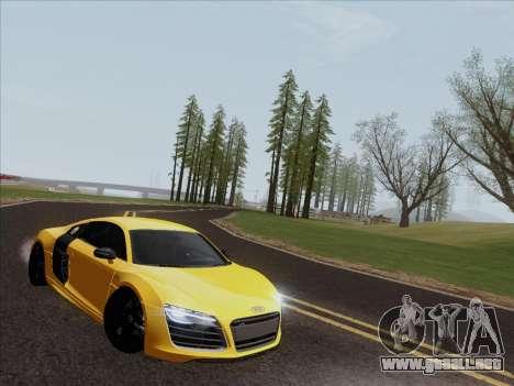 Audi R8 V10 Plus para GTA San Andreas left