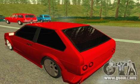 VAZ 2108 Aarr estilo para la visión correcta GTA San Andreas