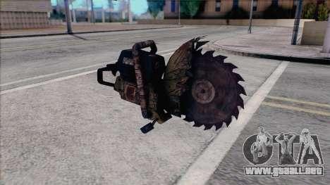 Motosierra de Silent Hill Home Coming para GTA San Andreas