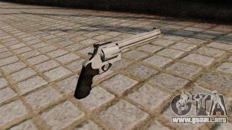 500 S & W Magnum revolver. para GTA 4 segundos de pantalla