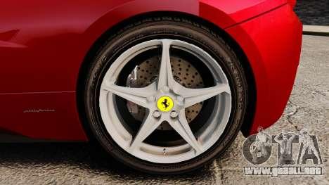 Ferrari 458 Italia 2010 Novitec para GTA 4 visión correcta
