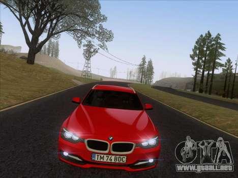 BMW 3 Touring F31 2013 para la visión correcta GTA San Andreas