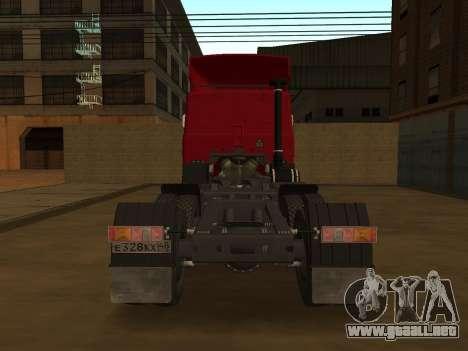 MAZ 5432 para la visión correcta GTA San Andreas