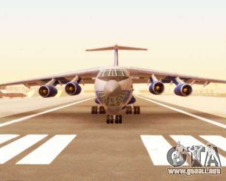 Il-76td Silk Way para GTA San Andreas left