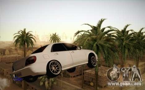 Congelación de coche en aire para GTA San Andreas