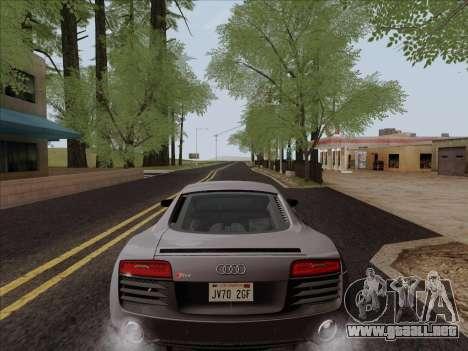 Audi R8 V10 Plus para vista lateral GTA San Andreas