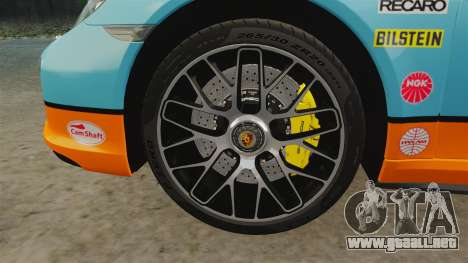 Porsche 911 Turbo 2014 [EPM] Gulf para GTA 4 vista interior