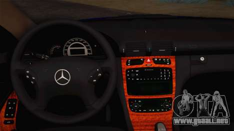 Mercedes-Benz C320 Elegance 2004 para visión interna GTA San Andreas