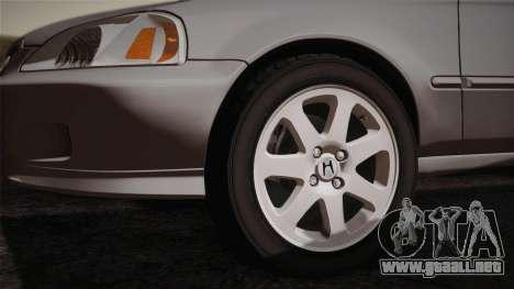 Honda Civic Si 1999 Coupe para la visión correcta GTA San Andreas