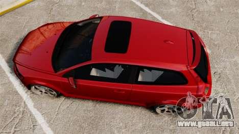 Volvo C30 T5 2009 para GTA 4 visión correcta