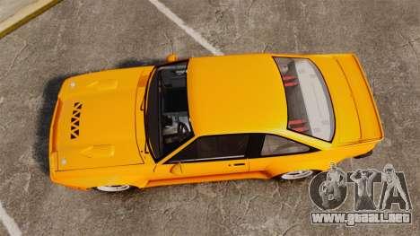 Opel Manta para GTA 4 visión correcta