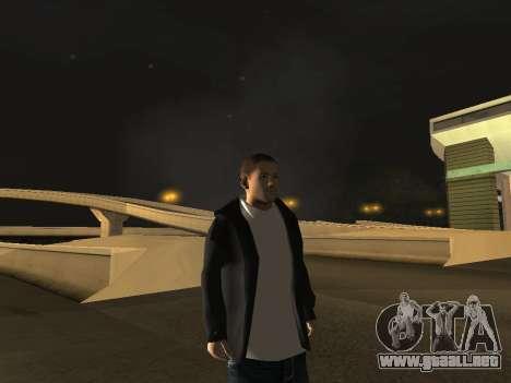 Chester Bennington para GTA San Andreas sucesivamente de pantalla