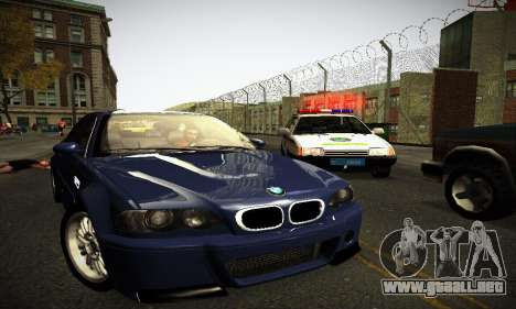 BMW E46 M3 CSL para GTA San Andreas