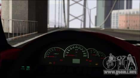 VAZ-2112 deportes para GTA San Andreas vista hacia atrás