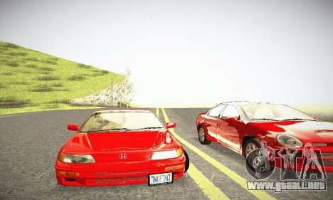 Honda CRX - Stock para visión interna GTA San Andreas