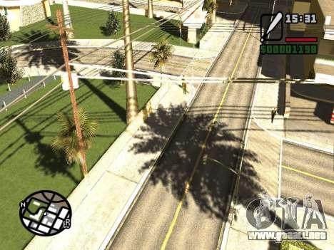 SA Render Public-Beta v0.1 para GTA San Andreas segunda pantalla
