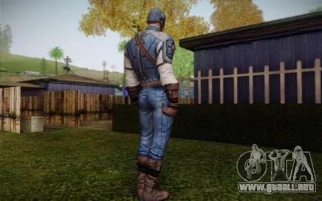 Captain America: First Avenger para GTA San Andreas segunda pantalla