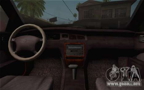 Toyota Crown Royal saloon g 3.0 para la visión correcta GTA San Andreas