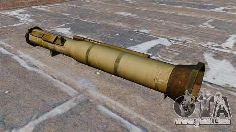 Lanzagranadas antitanque AT4 para GTA 4 segundos de pantalla