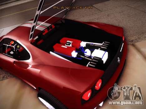 Ferrari 360 Challenge Stradale para vista lateral GTA San Andreas