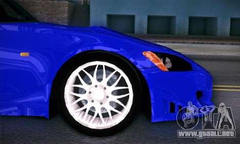 Honda S2000 para la vista superior GTA San Andreas