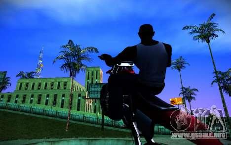 ENBSeries v3 para GTA San Andreas octavo de pantalla