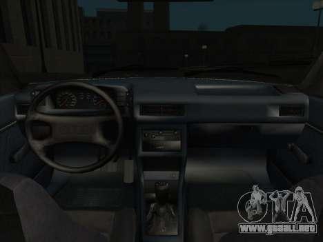 Audi 80 B2 v2.0 para la visión correcta GTA San Andreas