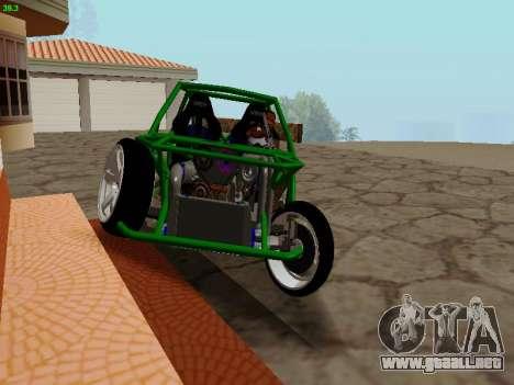 Nocturnal Motorsports Coyote para GTA San Andreas vista hacia atrás