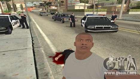 Trevor, Michael, Franklin para GTA San Andreas novena de pantalla
