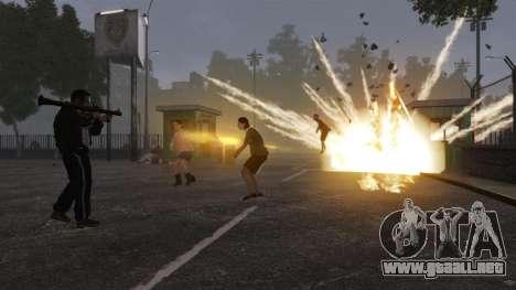 Nuevo Zombie-script para GTA 4 adelante de pantalla