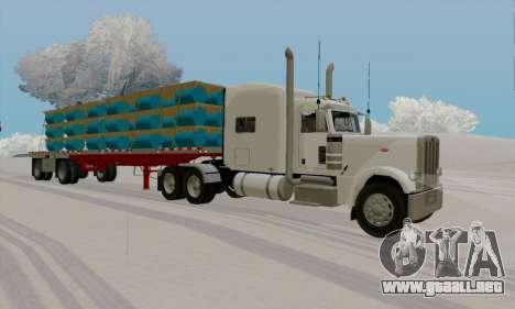 Peterbilt 389 para GTA San Andreas left
