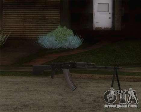 El RPK-74 m para GTA San Andreas