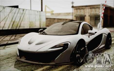McLaren P1 2014 v2 para GTA San Andreas