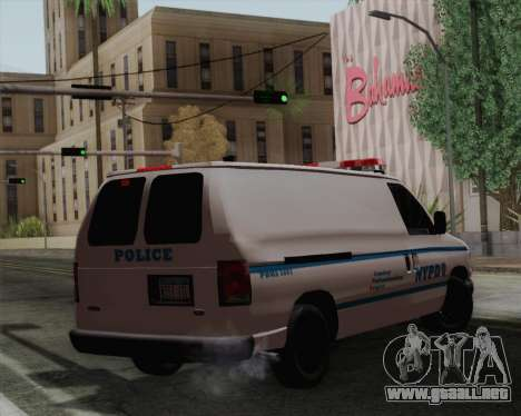 Ford F150 Police para GTA San Andreas left