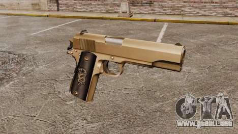V2 pistola Colt M1911 para GTA 4
