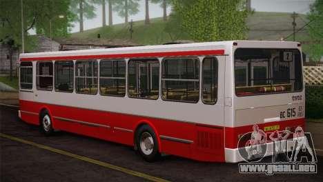 LIAZ piel 5256.00 3-Pack para vista lateral GTA San Andreas