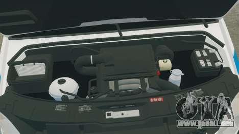 Mercedes-Benz Sprinter 3500 Emergency Response para GTA 4 vista interior