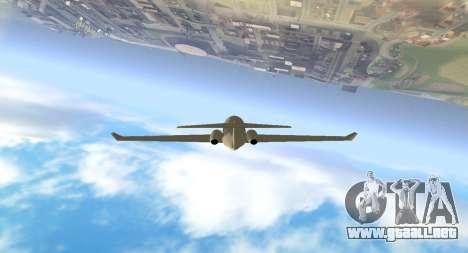 Plain Cam para GTA San Andreas sucesivamente de pantalla