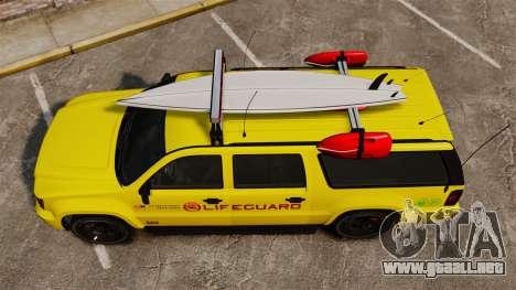 GTA V Declasse Granger 3500LX Lifeguard para GTA 4 visión correcta