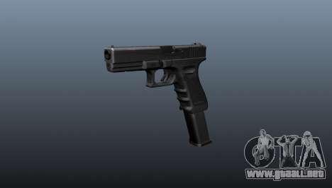 Pistola ametralladora Glock 18 para GTA 4