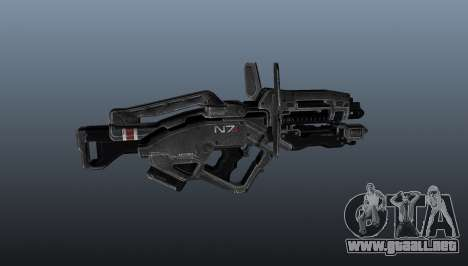 Ametralladora ligera Typhoon para GTA 4 tercera pantalla