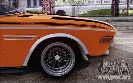 BMW 30 CSL 1971 para GTA San Andreas left