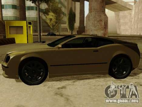 Cognocsenti Cabrio de GTA 5 para GTA San Andreas vista hacia atrás