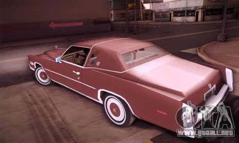 Cadillac Eldorado 1978 Coupe para GTA San Andreas left