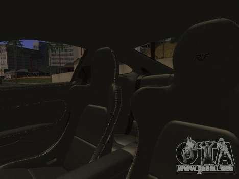RUF RGT-8 para GTA San Andreas interior