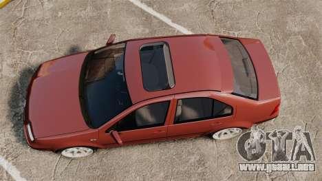 Volkswagen Bora VR6 2003 para GTA 4 visión correcta