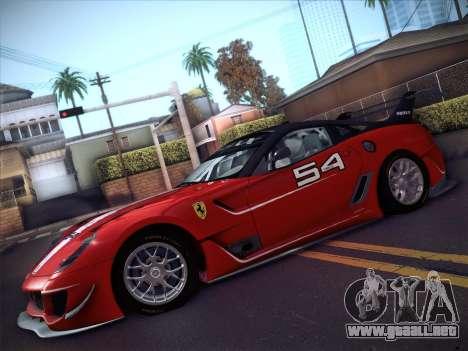 Ferrari 599XX 2012 para la visión correcta GTA San Andreas