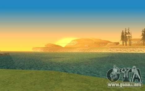 Timecyc v2.0 para GTA San Andreas quinta pantalla